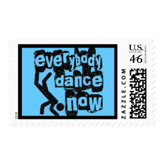 Everybody Dance Now Stamp