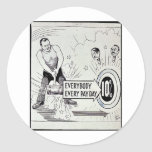 Everybody Every Pay Day 10% Stickers