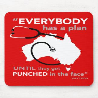 Everybody has a plan mousepad