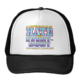 Everybody Hate Face Trucker Hat