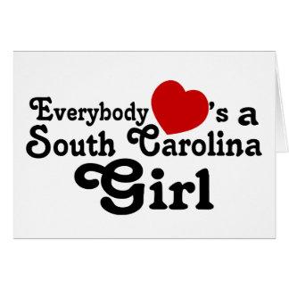 Everybody Hearts a South Carolina Girl Card