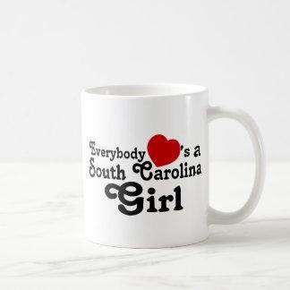Everybody Hearts a South Carolina Girl Coffee Mug