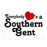 Everybody Hearts a Southern Gent Postcard