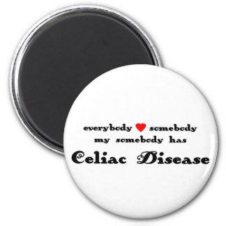everybody hearts somebody Celiac Disease Magnet