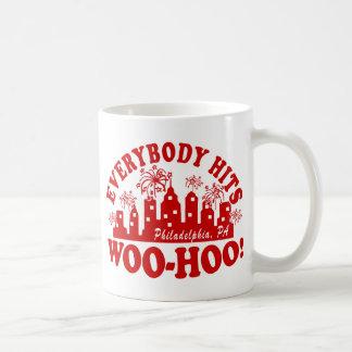 Everybody Hits Phillies Classic Classic White Coffee Mug