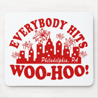 Everybody Hits Phillies Classic Mouse Pad