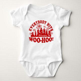 Everybody Hits Phillies Classic Tee Shirts