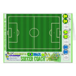 Everybody is a Brazil Soccer Coach Strategy Kit Greeting Card