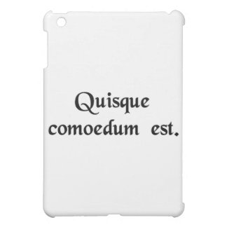 Everybody is a comedian iPad mini cases