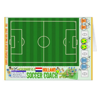 Everybody is a Holland Soccer Coach Strategy Kit Cards