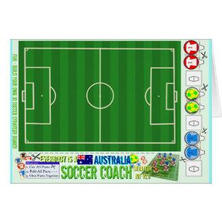 Everybody is a Soccer Coach Strategy Kit Australia Card