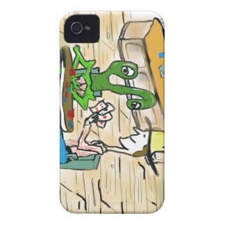Everybody is accepted at the poker table iPhone 4 case