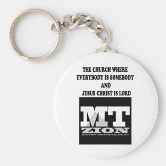 Everybody is Somebody Keychain