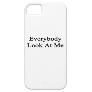 Everybody Look At Me iPhone 5 Case