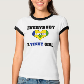 Everybody love a Vincy Girl T-Shirt
