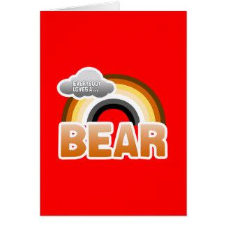 Everybody Loves a Bear Card