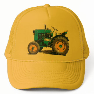Everybody loves a big old tractor! trucker hat