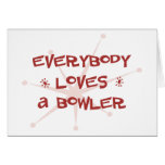 Everybody Loves A Bowler Cards