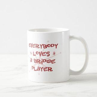 Everybody Loves A Bridge Player Coffee Mug