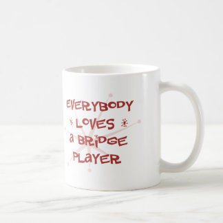 Everybody Loves A Bridge Player Mug