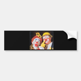 Everybody Loves A Clown Bumper Stickers