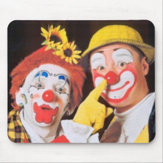 Everybody Loves A Clown Mouse Pad