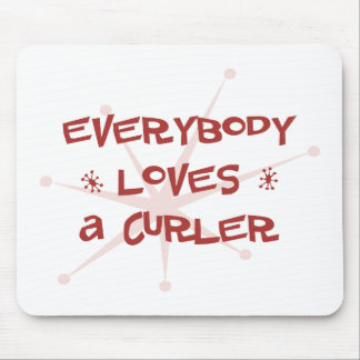 Everybody Loves A Curler Mouse Mat