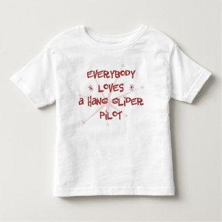 Everybody Loves A Hang Glider Pilot Toddler T-shirt