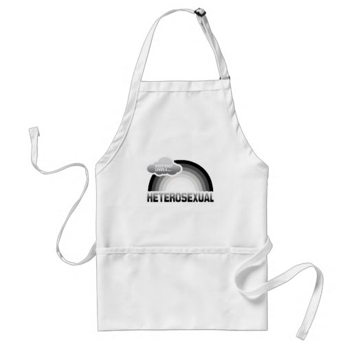 EVERYBODY LOVES A HETEROSEXUAL ADULT APRON