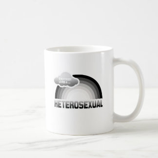 EVERYBODY LOVES A HETEROSEXUAL CLASSIC WHITE COFFEE MUG