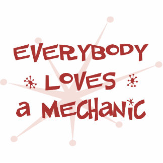 Everybody Loves A Mechanic Photo Sculpture Ornament
