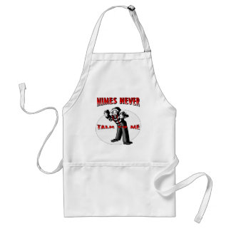 Everybody Loves A Mime Adult Apron