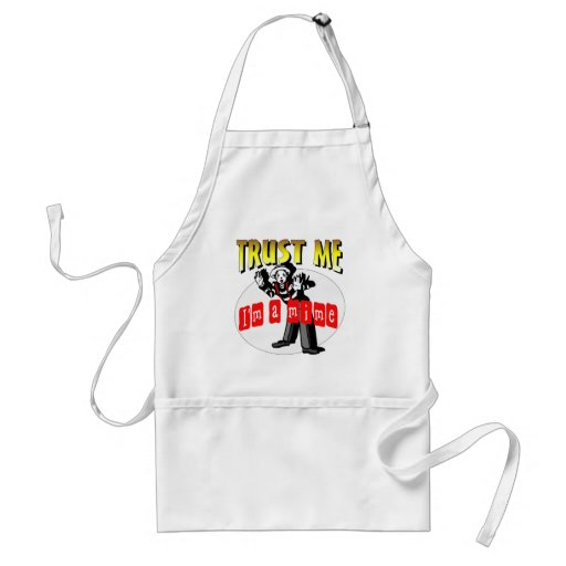 Everybody Loves A Mime Aprons
