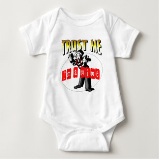 Everybody Loves A Mime Baby Bodysuit