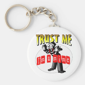 Everybody Loves A Mime Keychain