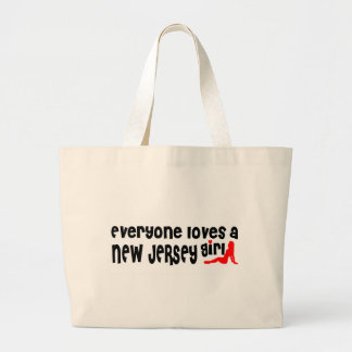 Everybody loves a New Jersey Girl Canvas Bags