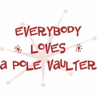 Everybody Loves A Pole Vaulter Photo Cutout