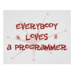 Everybody Loves A Programmer Poster