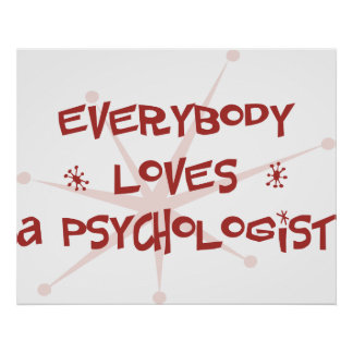 Everybody Loves A Psychologist Poster