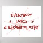Everybody Loves A Rheumatologist Print