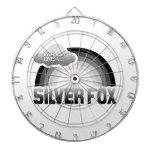 Everybody Loves a Silver Fox Dart Board