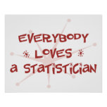 Everybody Loves A Statistician Posters