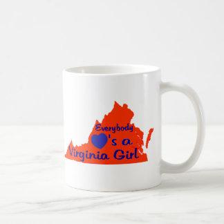 Everybody Loves a Virginia Girl Coffee Mug