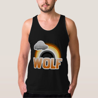 Everybody Loves a Wolf Tank Top
