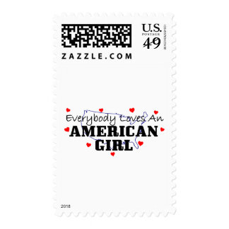 Everybody Loves An American Girl Stamp