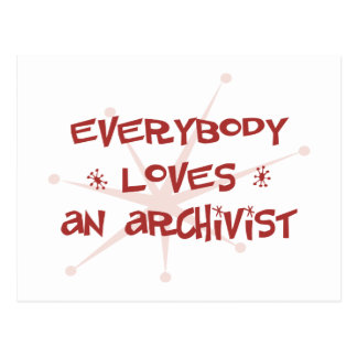 Everybody Loves An Archivist Postcards