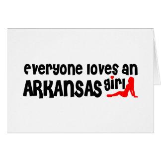 Everybody loves an Arkansas Girl Cards