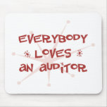 Everybody Loves An Auditor Mouse Mats