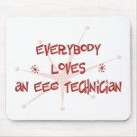 Everybody Loves An EEG Technician Mouse Mat