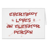 Everybody Loves An Elevator Person Cards